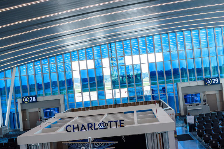 Charlotte Douglas View Smart Windows