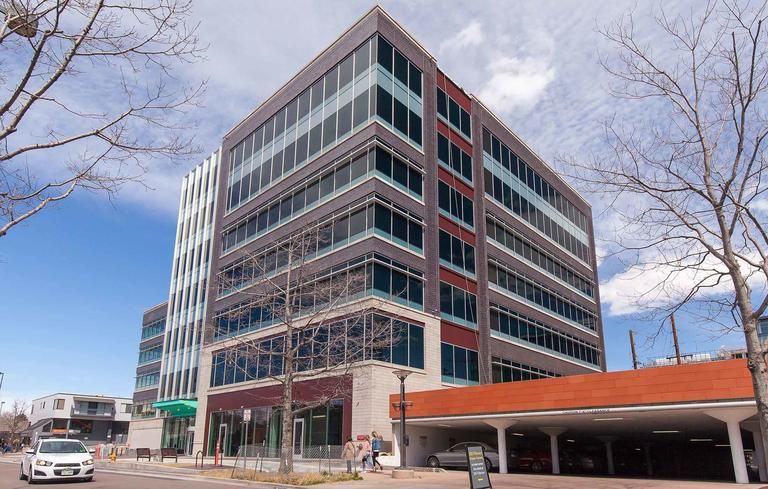 civica cherry creek commercial office view dynamic glass