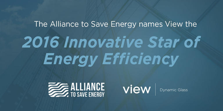 The Alliance To Save Energy Names View Innovative Star Of